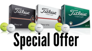 Special Offer Titleist Loyalty Program