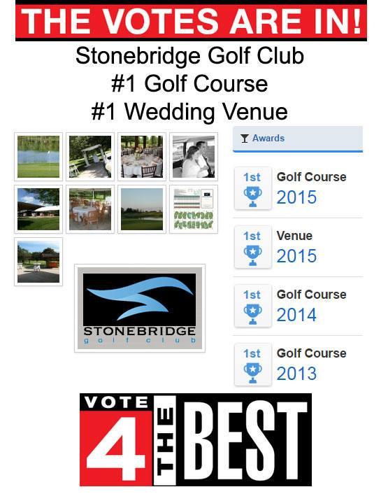 1 Golf Course Wedding Venue In Metro Detroit 2015 Stonebridge