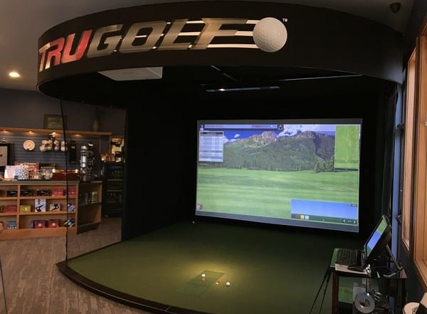 indoor driving range