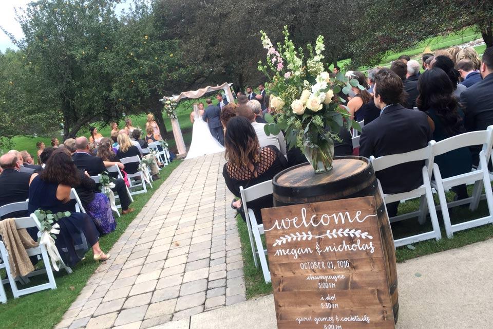 Wedding Reception Venue Outdoor Ceremonies Stonebridge Golf Club