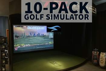 Golf Simulator hours 10 pack