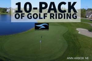 Ann Arbor 10 pack of 18 hole golf