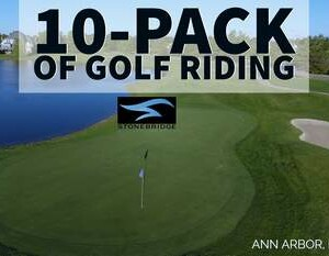 Ann Arbor 10 pack of 18 hole golf