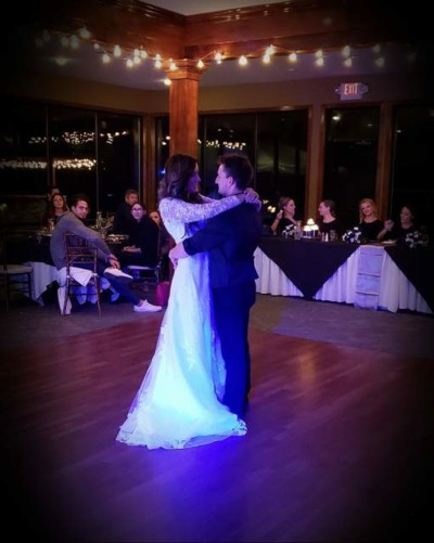romantic winter wedding