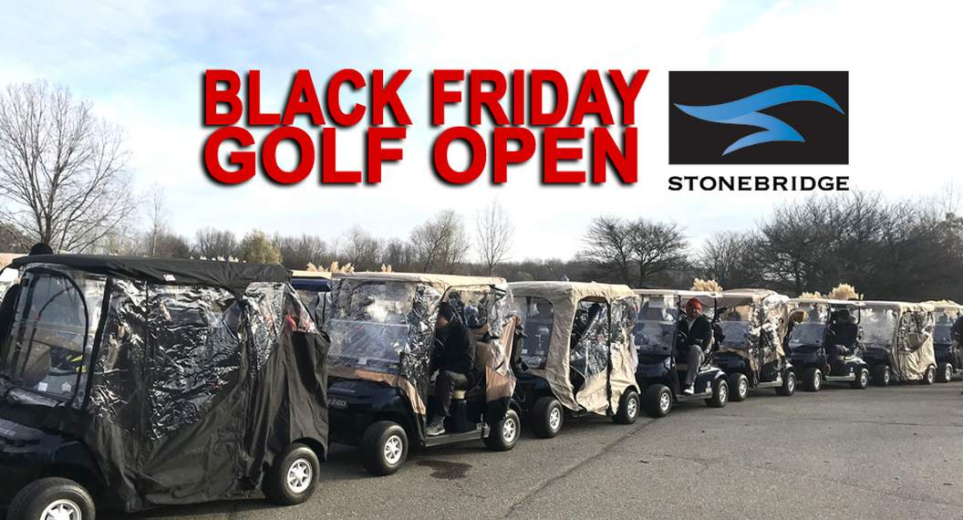 Black Friday Golf Open 2 Man Scramble