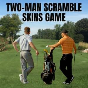 2 Man Scramble Skins Game in Ann Arbor