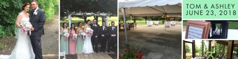 wedding ceremony near canton