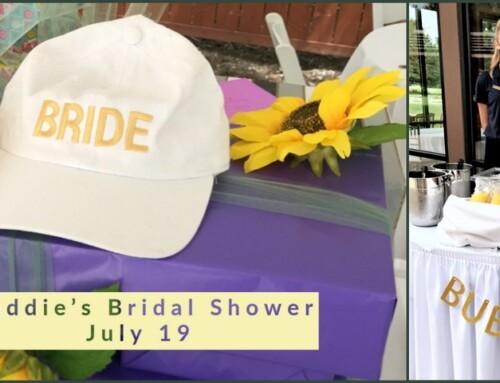 Bridal Shower July 19